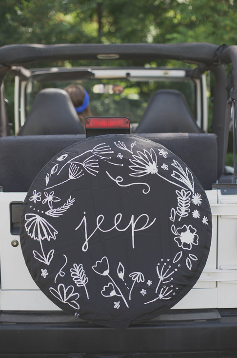 Jeep Tire Cover Restyle