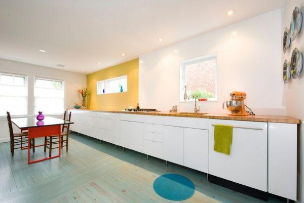 küche ohne oberschränke - Google-Suche | Küchenrückwände | Pinterest ...
