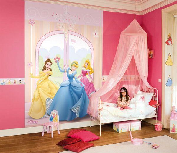 A Disney Room For A Little Girl :) ☺ ☺.