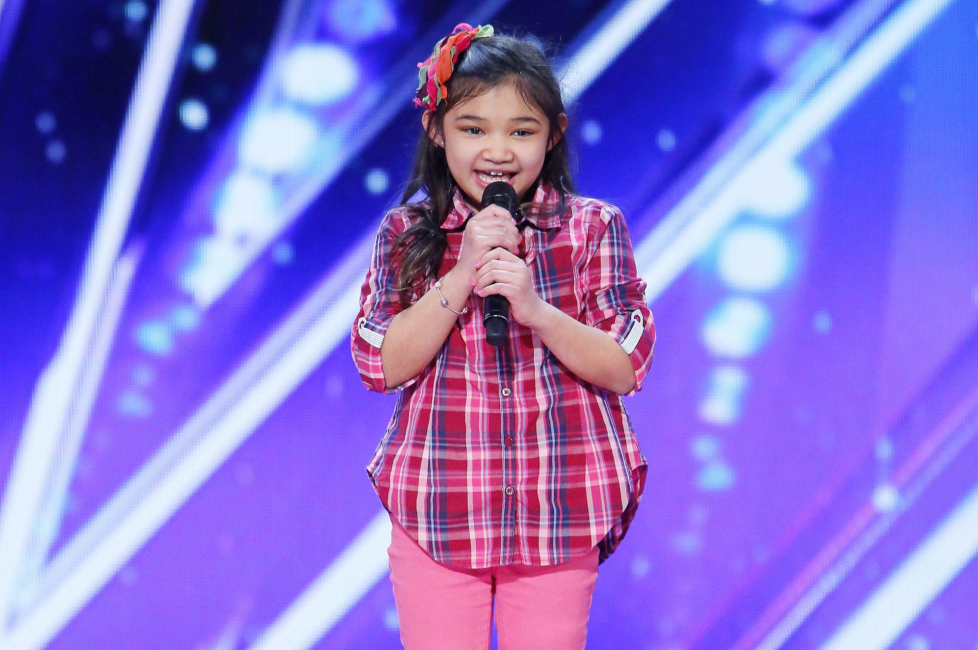 Talking With America S Got Talent 9 Year Old Singing Sensation Angelica Hale America S Got Talent Videos America S Got Talent Angelica