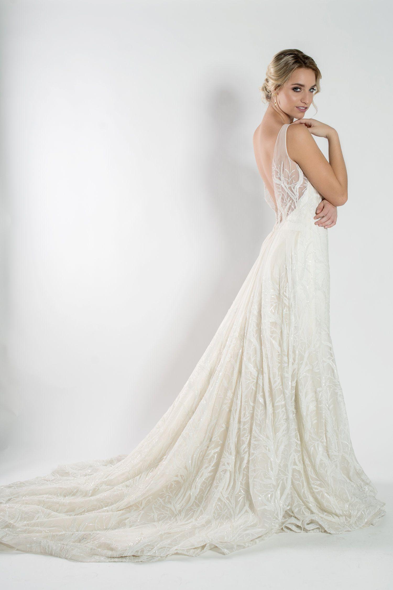 Beaded ivory wedding dress the bridal finery orlando