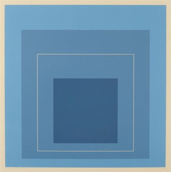 Josef Albers, White Line Square XIII, from White Line Squares (Series II)