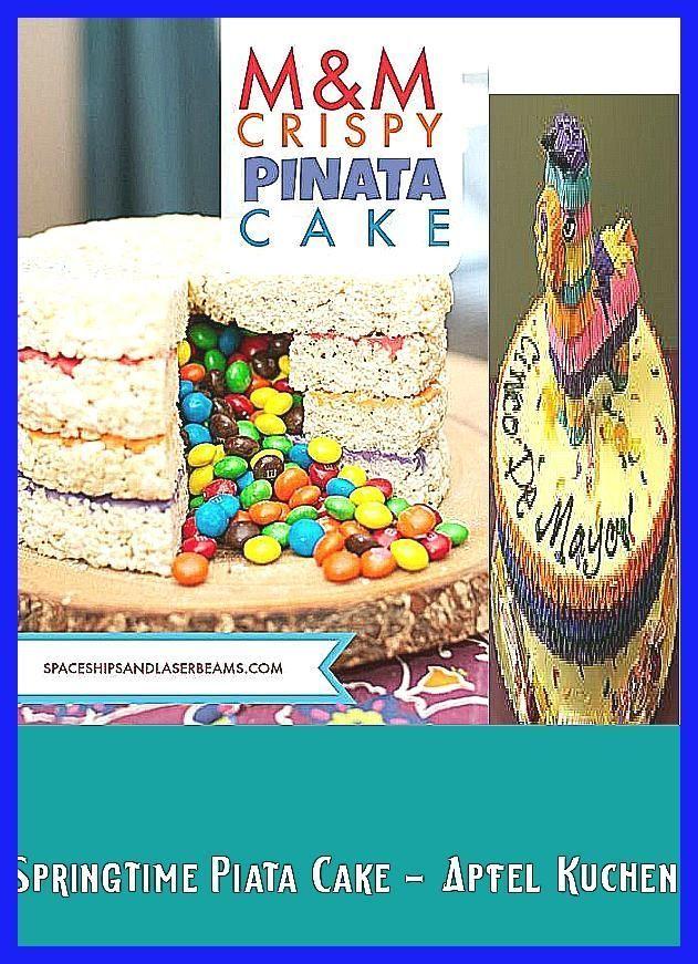 Photo of MMs Crispy Pinata Cake Apfel Kuchen – Ostern