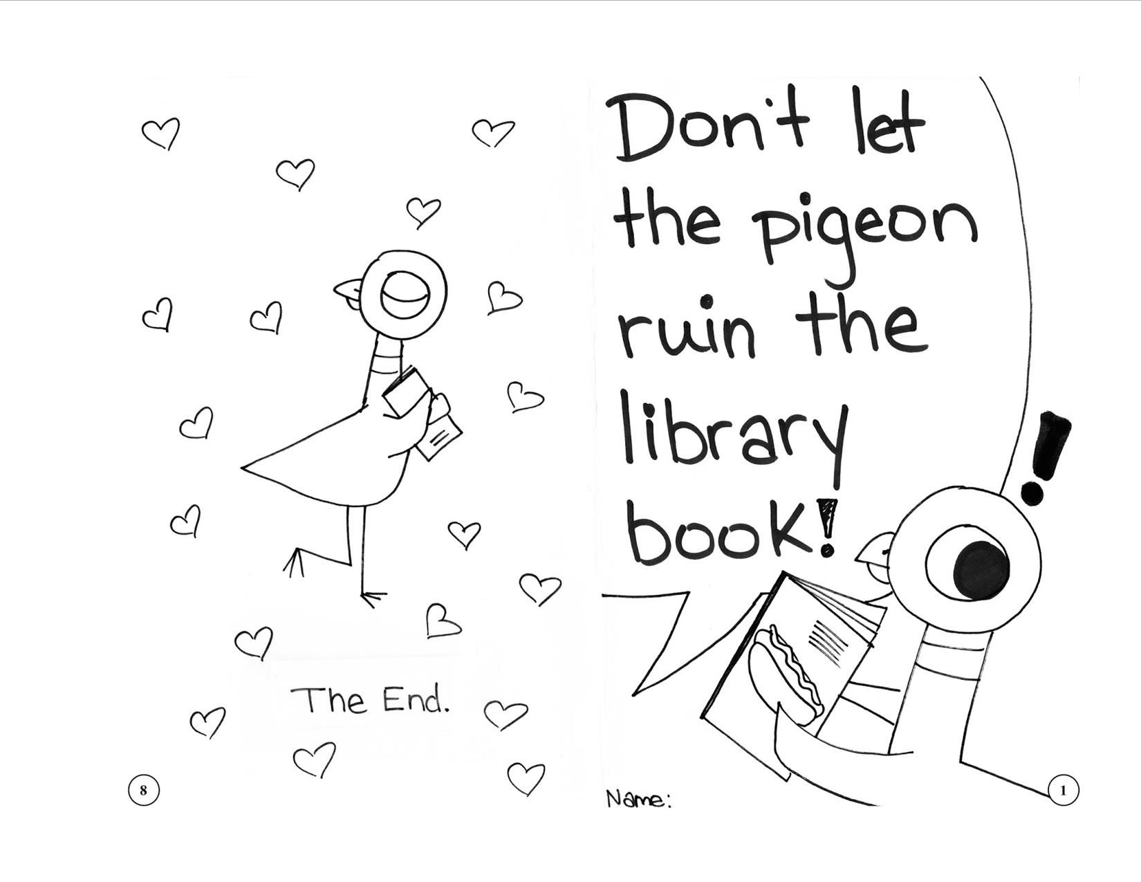 Don T Let The Pigeon Ruin The Library Book Library Lessons Elementary Kindergarten Library Book Care