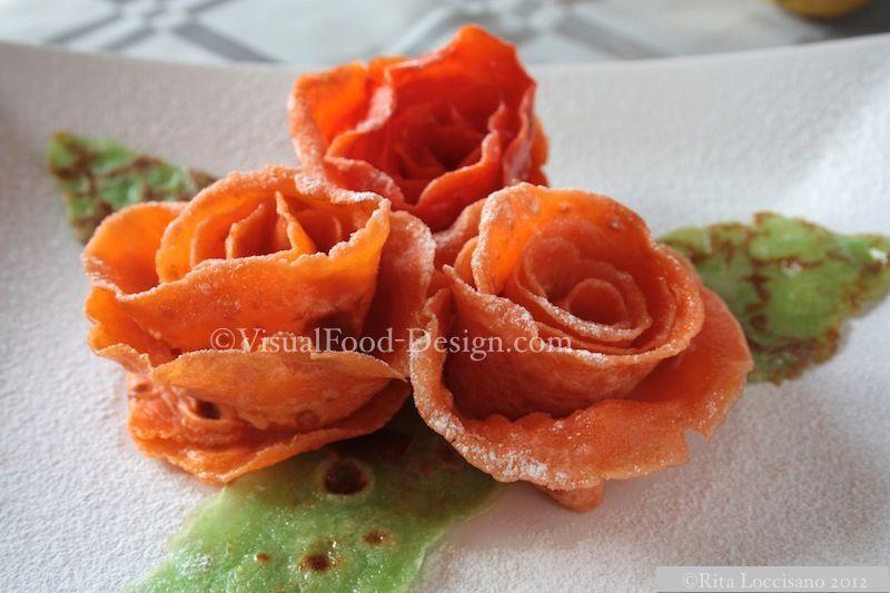 Rose di crepes