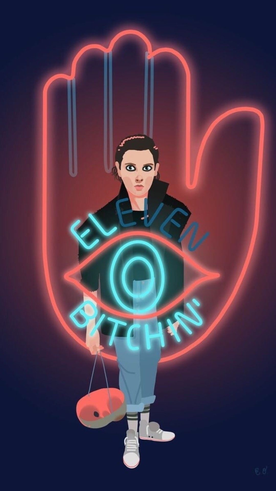 Eleven Wallpaper Stranger Things Wallpaper Stranger Things Stranger Things Fanart
