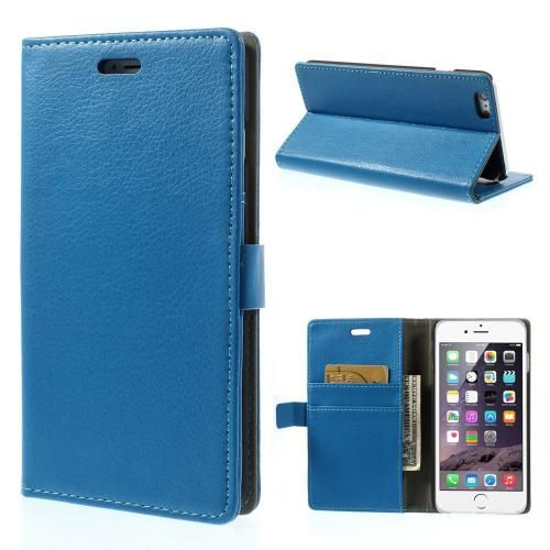 Köp Plånboksfodral Apple iPhone 6 Plus/6S Plus blå online: http://www.phonelife.se/planboksfodral-apple-iphone-6-plus-bla