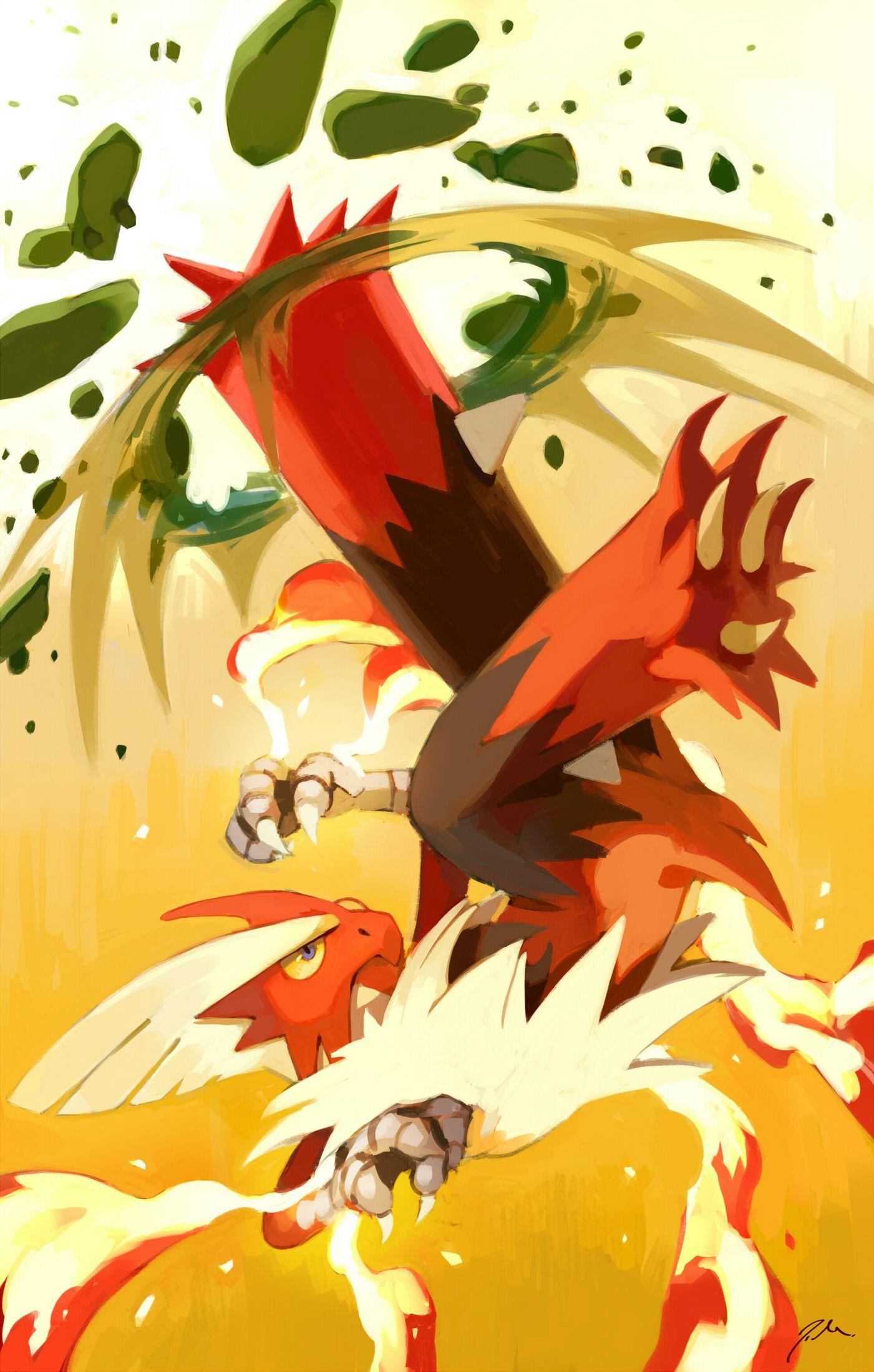 Mega blaziken by on deviantart pokemon things pinterest - Pokemon mega evolution blaziken ...
