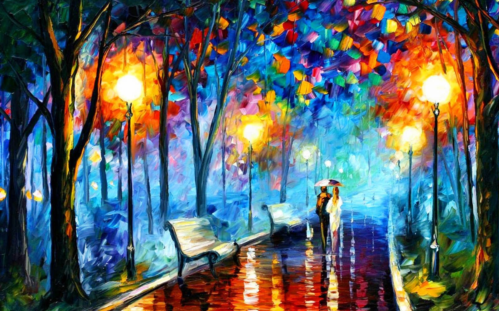 Abstract Paintings Wallpapers Farben Und Tapeten Malen