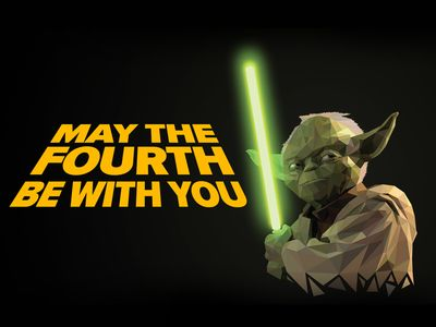 Yoda May The 4th Be With You