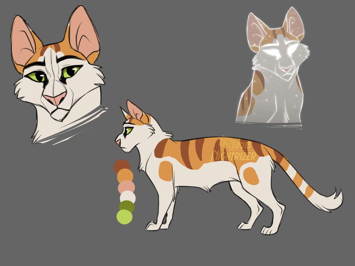 Warrior Cat Designs Warrior cats fan art, Warrior cat