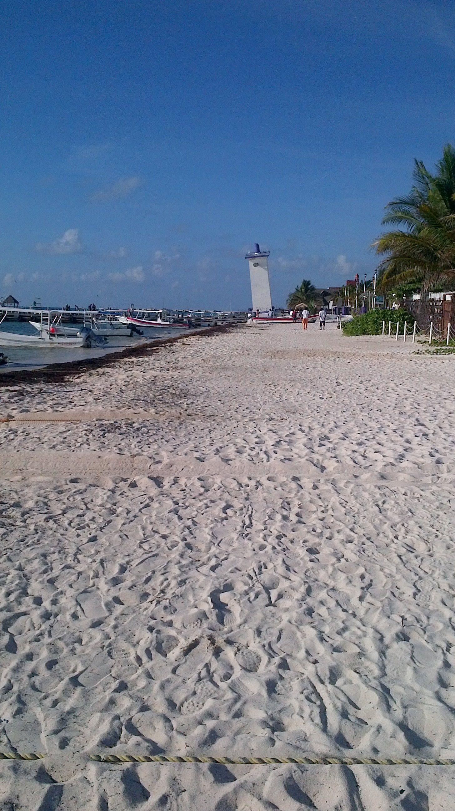 Puerto Morelos Logo Leaning Lighthouse Felled By Hurricane Gilbert Riviera Maya Resorts Puerto Morelos Mayan Riviera