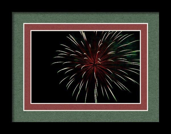 4th Framed Print featuring the photograph Bursting With Love by Marnie Patchett
