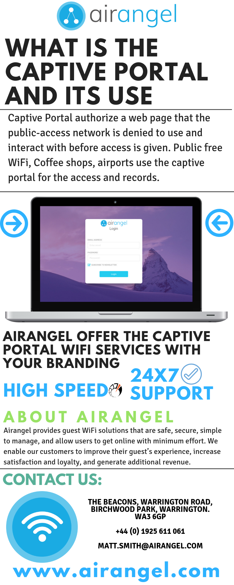 Get the best and affordable Captive Portal WiFi services from