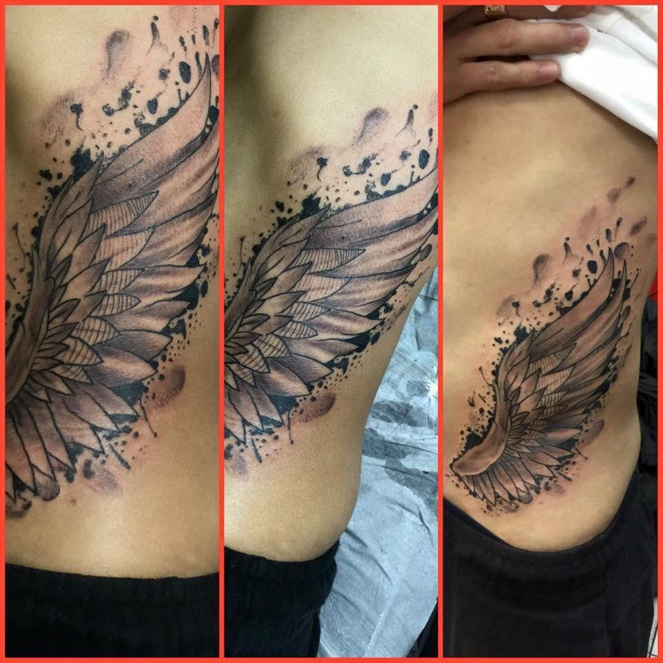 tatuajes alas,tatuador sebastian ruz dominguez, tatuajesmas, +56961211870