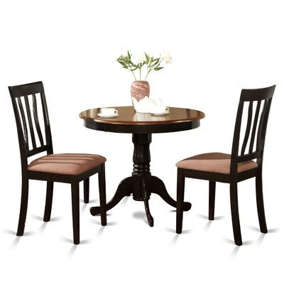 Found It At Wayfair Antique 3 Piece Dining Set Round Dining Room Kitchen Table Settings Round Dining Table Sets