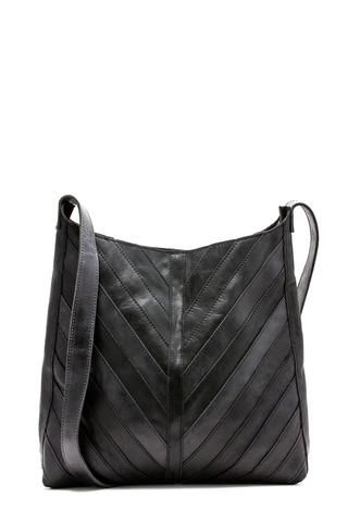 e3bc046b55fe The Kerem Remnant Bag by Raven + Lily. Oversized shoulder bag featuring  patchwork style design with contrast stitching. Handcrafted from  locally-sourced ...