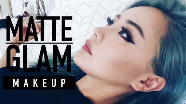 Matte Makeup Tutorials – Matte Glam Makeup Tutorial for Hooded Eyes – Awesom…