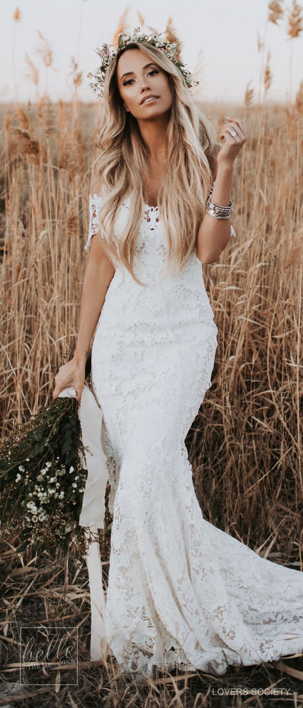 rustic wedding dresses for the sophisticated bride wedding
