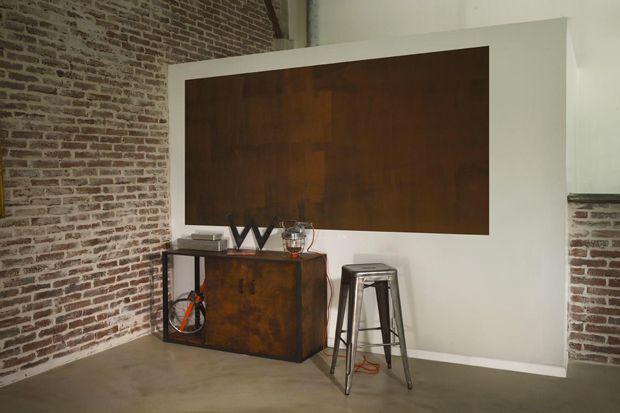 La peinture effet rouille sur un meuble cu0027est top ! Mix match