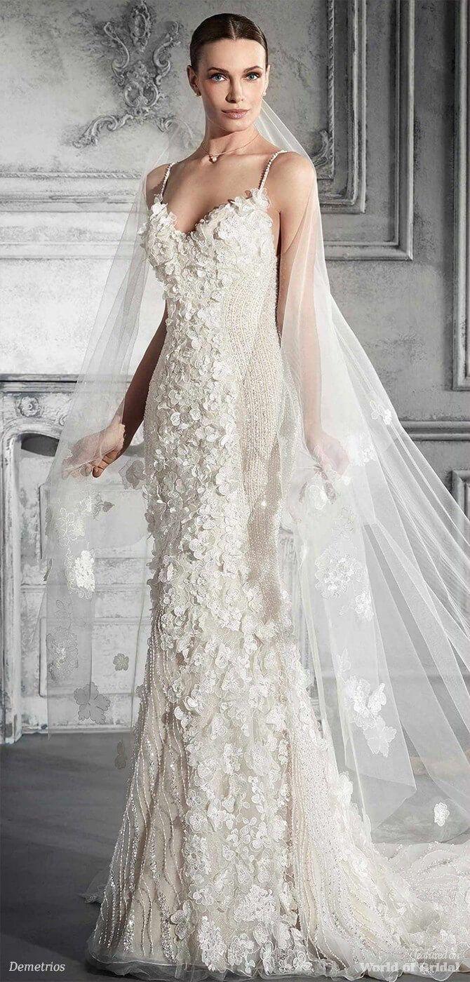 Demetrios wedding dresses gelinlik nişankına modelleri