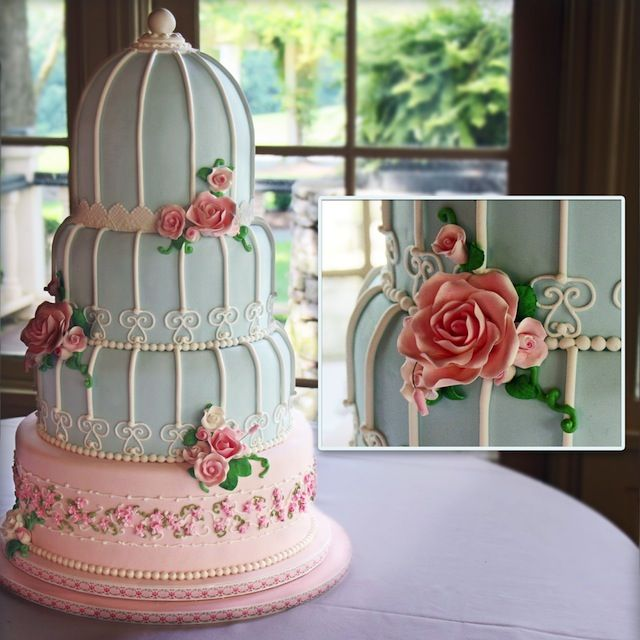 Top 14 Spring Wedding Cake Designs – Cheap Unique Project For Easy Party Day - Homemade Ideas (3)