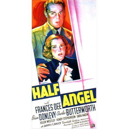Half Angel U Canvas Art - (11 x 17)