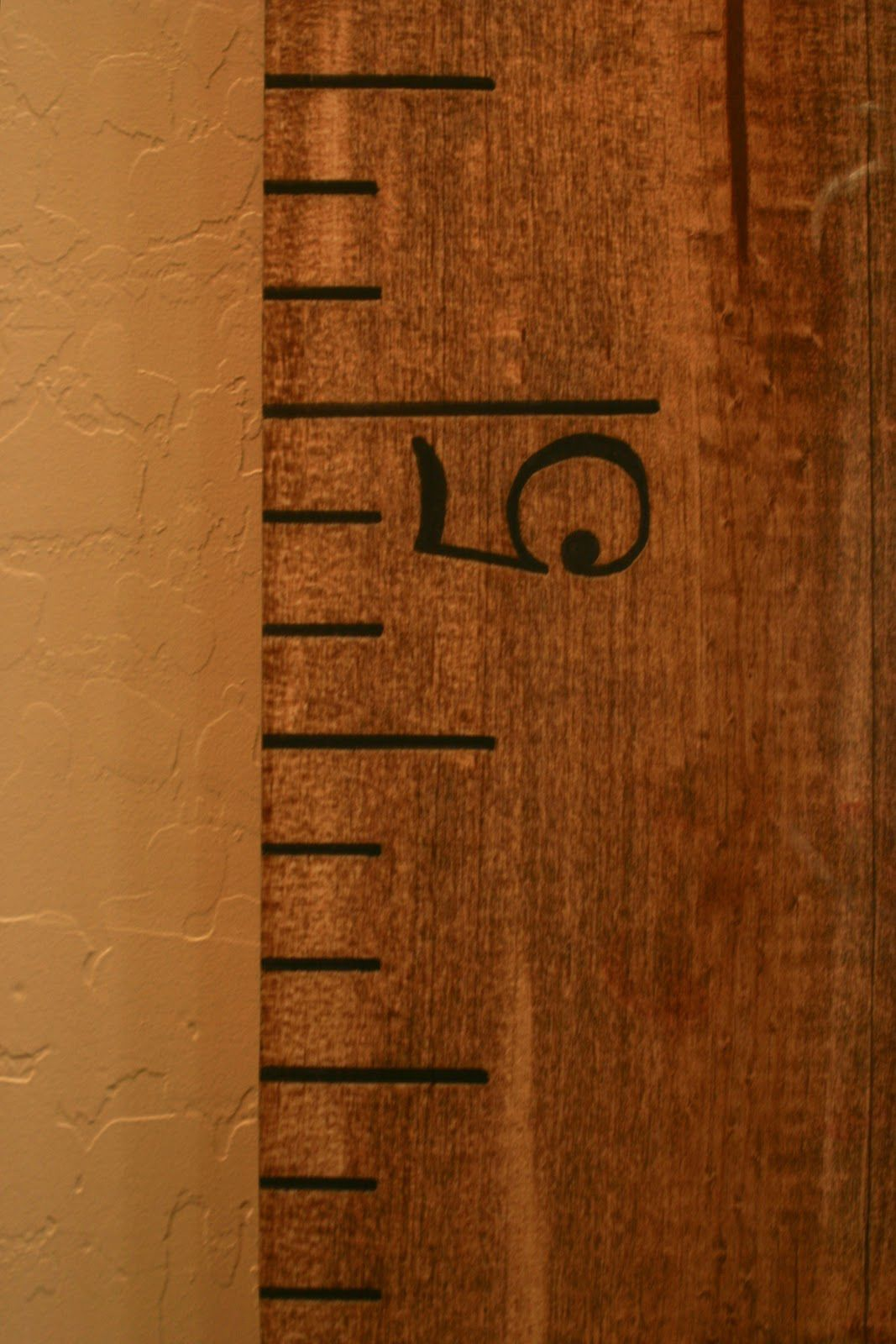 Diy oversized growth chart ruler because i like to decorate diy oversized growth chart ruler because i like to decorate geenschuldenfo Choice Image