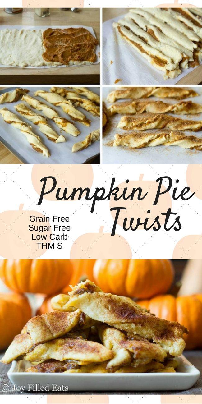 My Pumpkin Pie Twists Are Low Carb Grain Gluten Sugar Free A