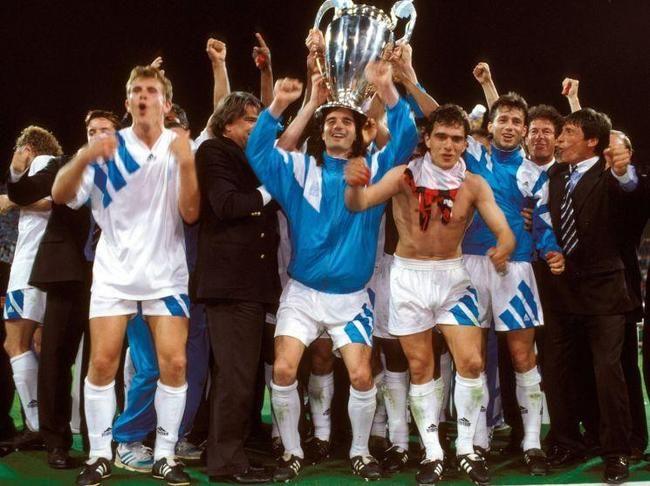 Coupe d 39 europe des clubs champions 1993 olympique de marseille olympique de marseille - Coupe d europe des champions ...