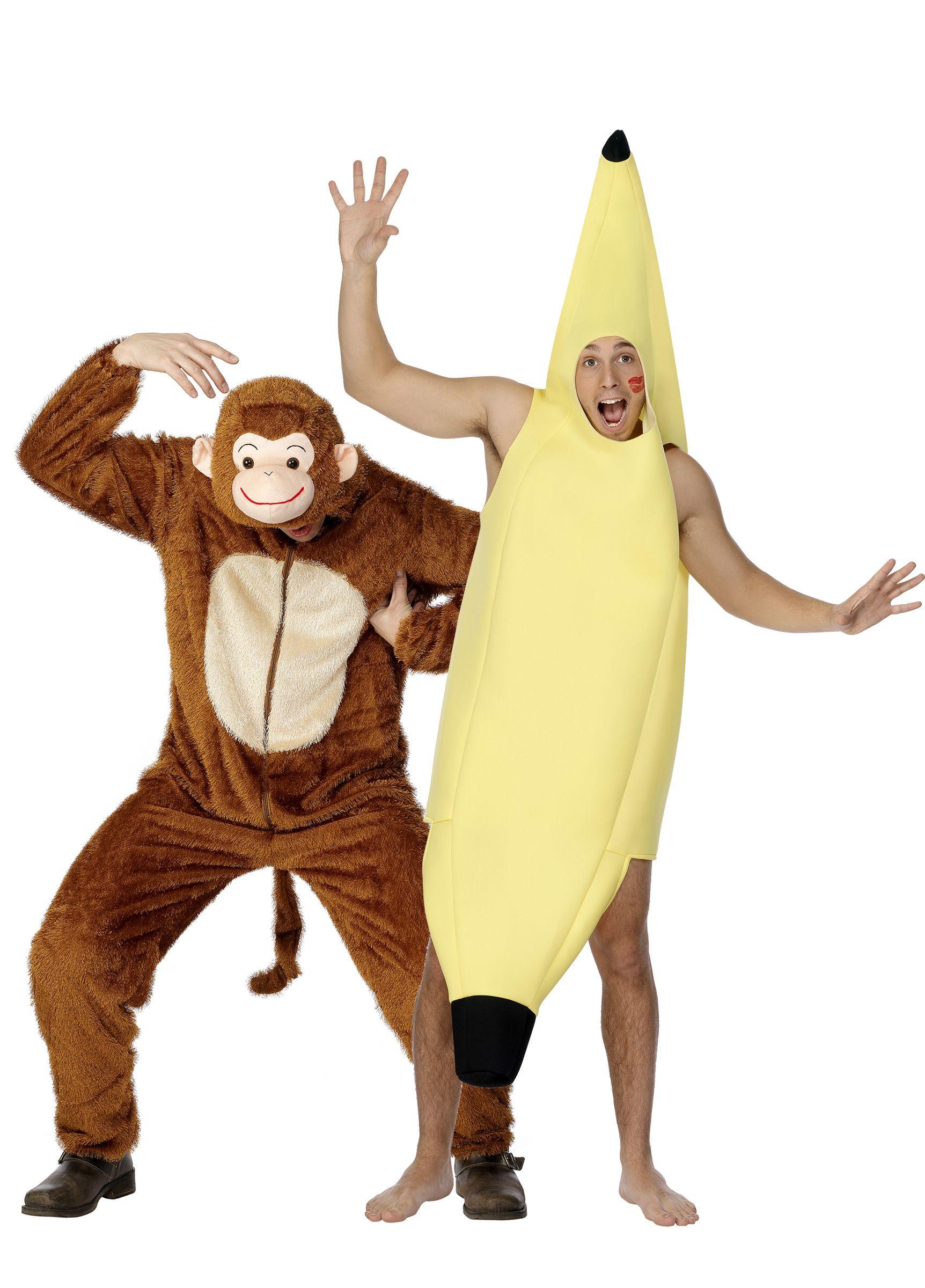 die besten 25 bananen kost m ideen auf pinterest party rezepte fasching halloween deko und. Black Bedroom Furniture Sets. Home Design Ideas