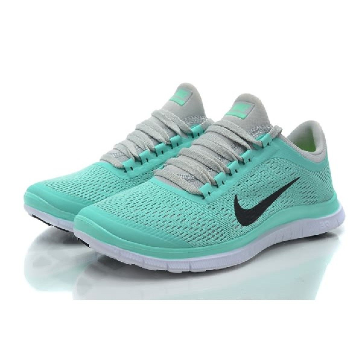 competitive price 4e555 38c34 ... Nike Free 3.0 V5 Womens Nike Free 3.0 V5 Womens Running shoes Crystal  Mint for ...
