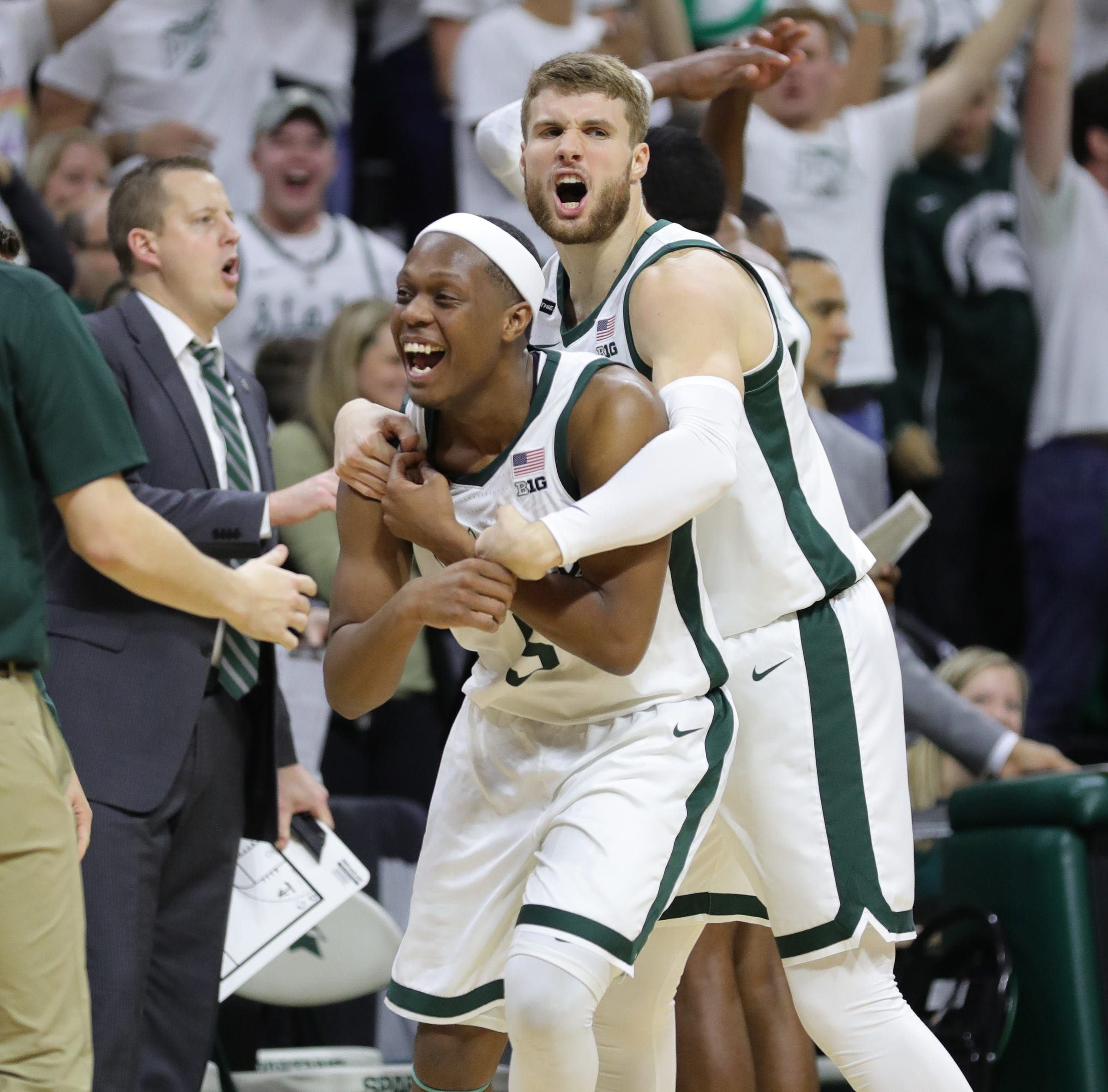 Michigan State Basketball Seniors Prepare For One Final Trip To Ann Arbor To Face Michigan In 2020 Michigan State Basketball Michigan Michigan State