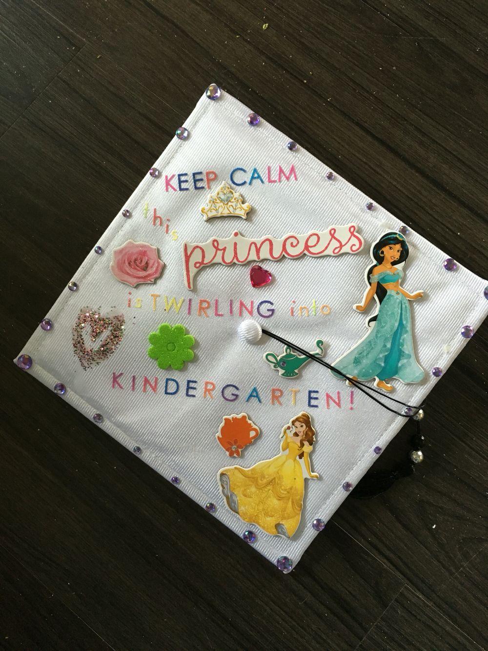 preschool princess graduation cap