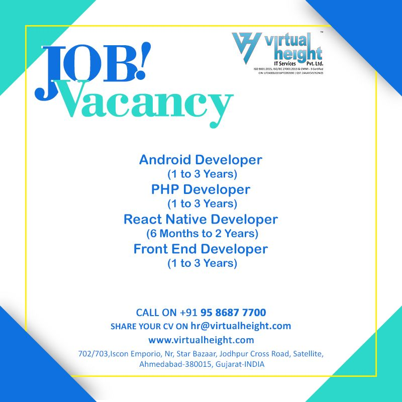 We are urgently looking for a Web & App Developer for