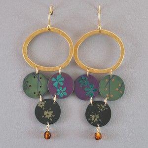 2e44791ab Holly Yashi Daylily Drop Post Earrings - Gold. | Holly Yashi