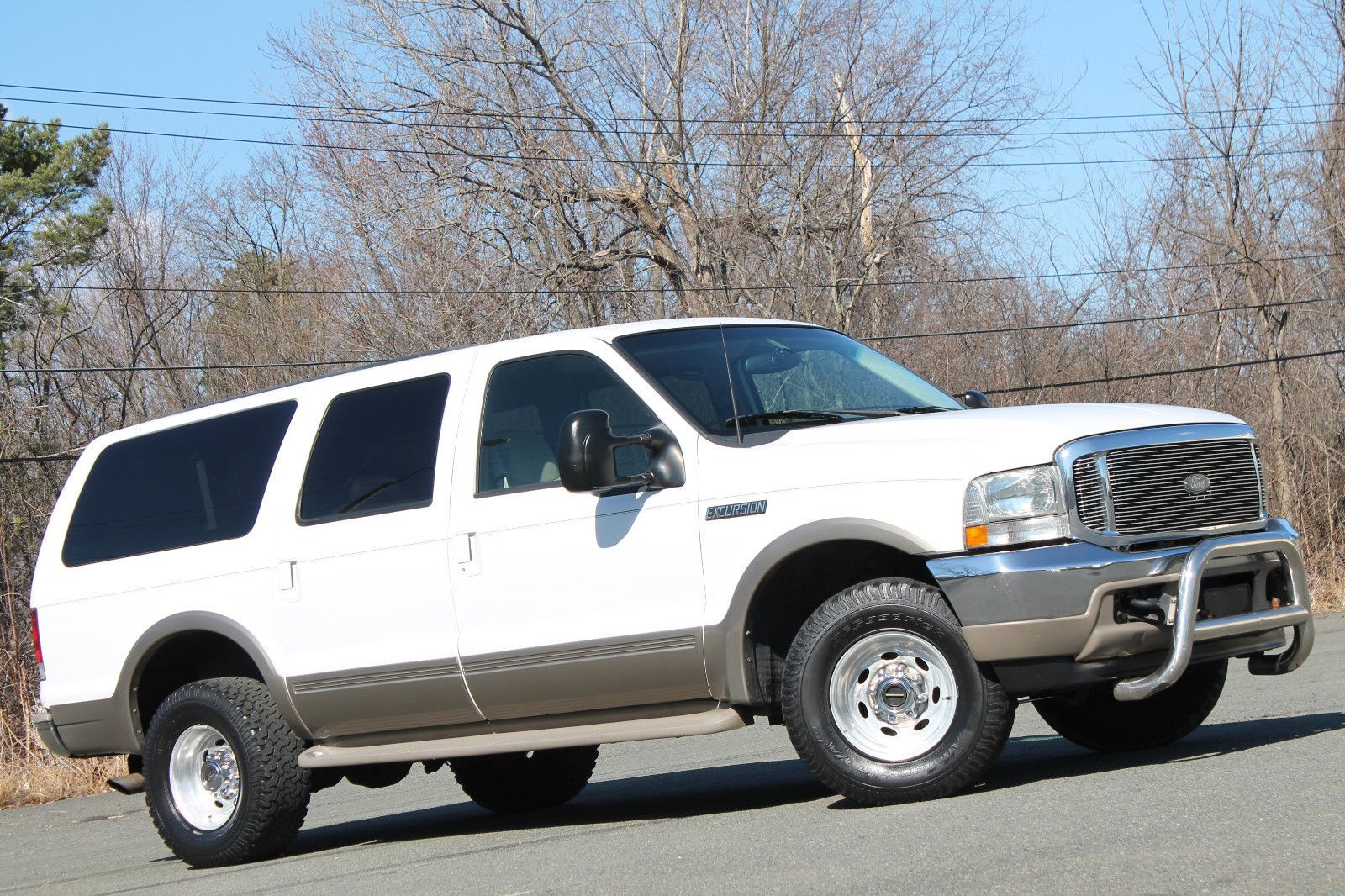 2000 ford excursion 7 3l powerstroke diesel 4x4 texas truck carfax 2000 ford excursion 4x4 7 3l powerstroke diesel limited leather rust
