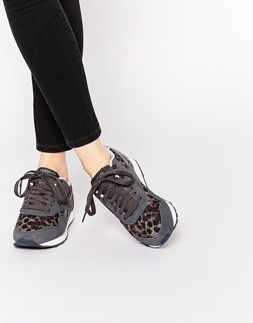 Reebok Women's Classic Nylon Wild Classic Shoe
