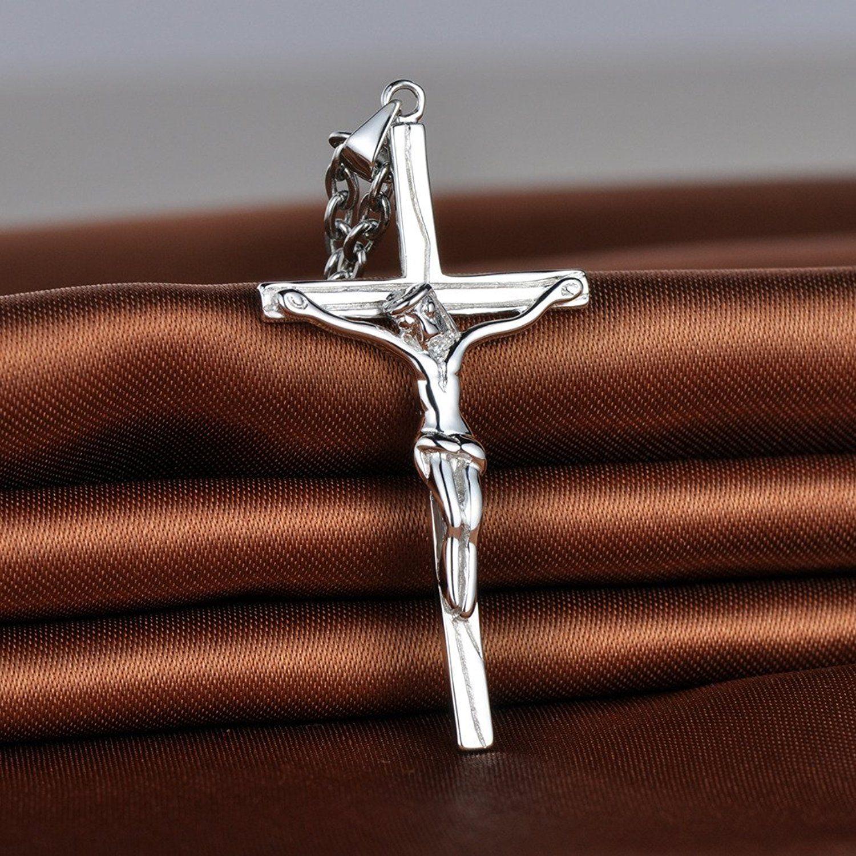 Infinite U Unique Jesus Crucifix Cross Matching Pendant