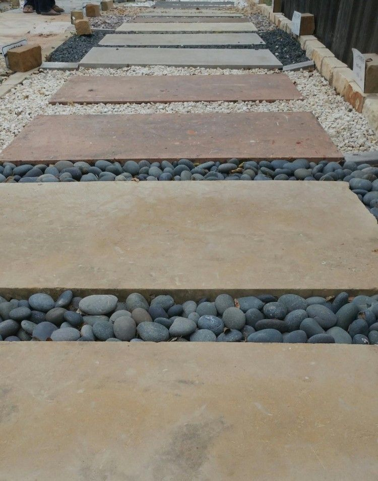 Round Rock Landscape Supplies Rock Pathway Concrete Pavers Pavers