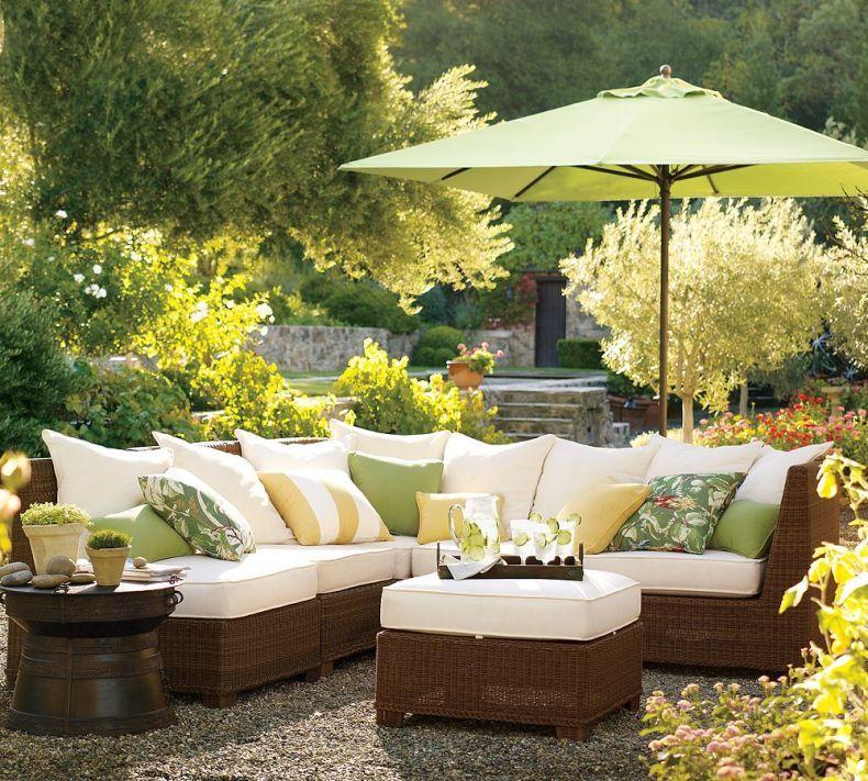 Furniture Design: Summer Garden Design With Rattan ...