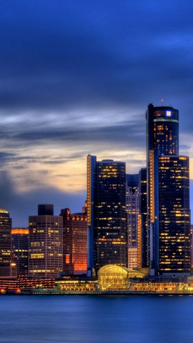 Detroit iPhone 5 wallpapers, backgrounds, 640 x 1136 | THE