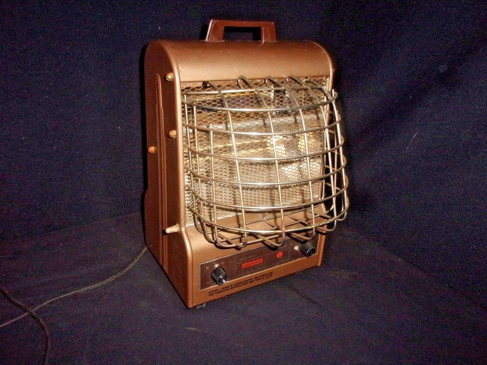 Vintage Scovill Electric Space Heater Markel Nutone Model 198ts Works Great Scovillmarkelnutone Vintage Space Electric Space Heaters Space Heater