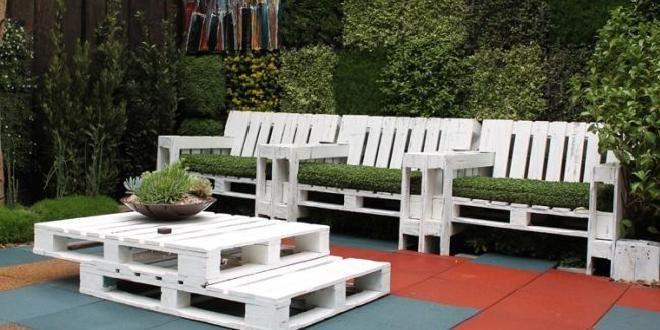 Muebles de jardín con palets ideas Handspire Home Pinterest - palets ideas