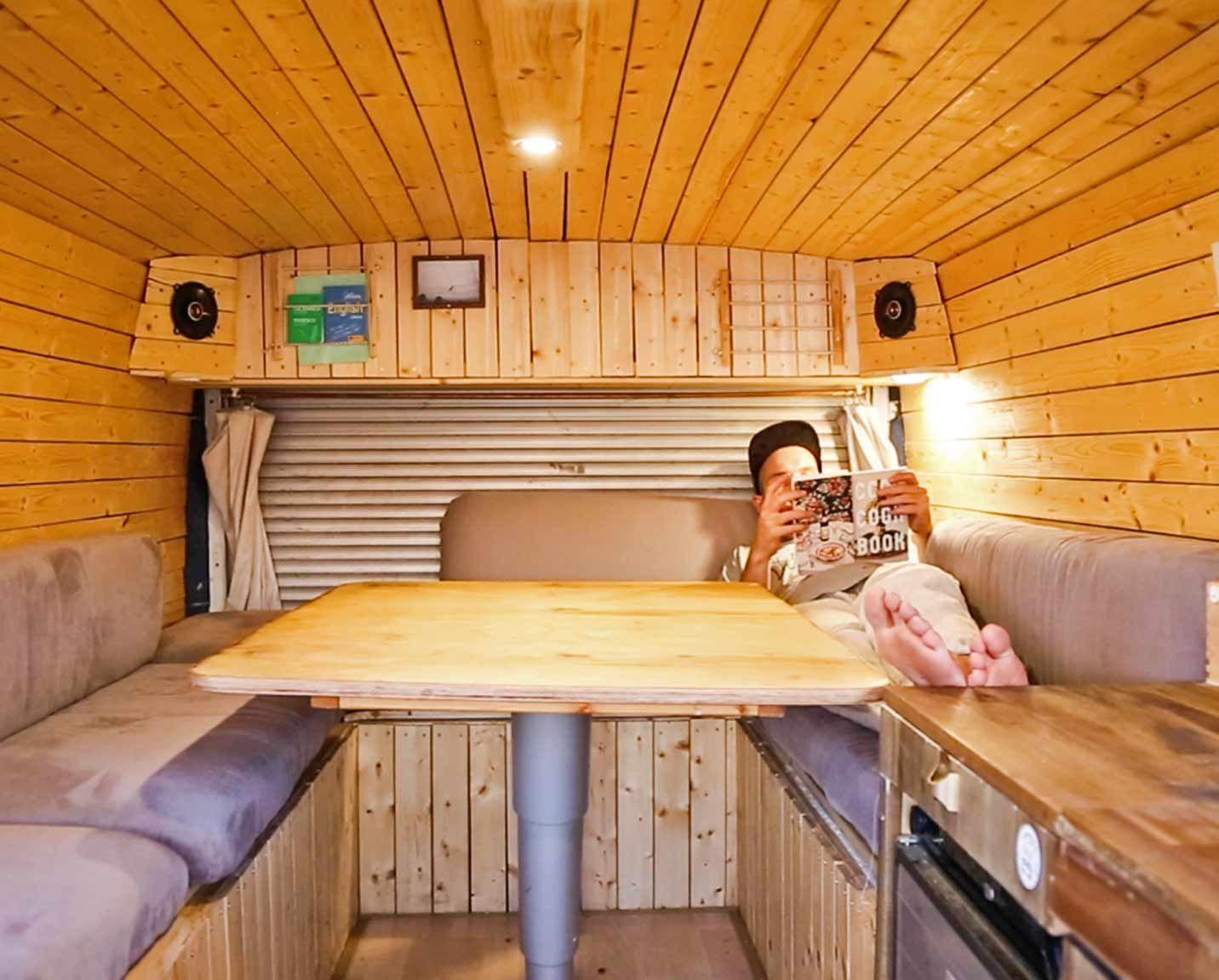 wohnmobil ausbau die 31 besten camper ausbauten camper. Black Bedroom Furniture Sets. Home Design Ideas