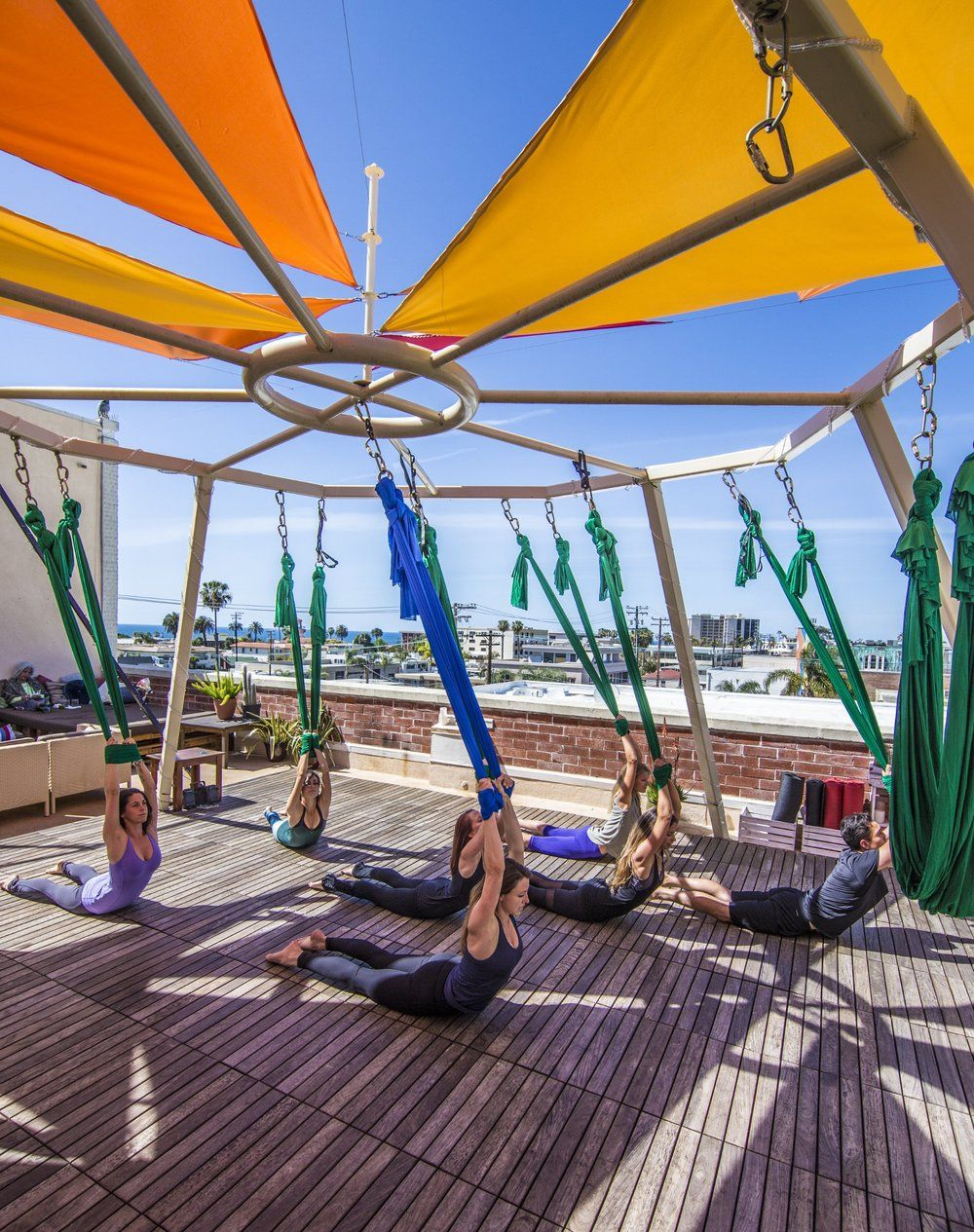Trilogy Sanctuary Best San Diego Fitness Studios From The Infinite Embers Blog Aerial Yoga Classes Aerial Yoga Fitness Boutique