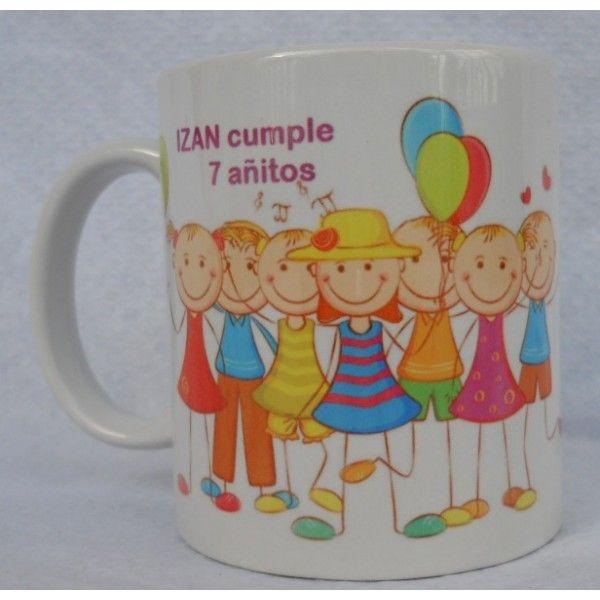 Taza personalizadas o mugs personalizados para recuerdos - Recuerdos para cumpleanos ...