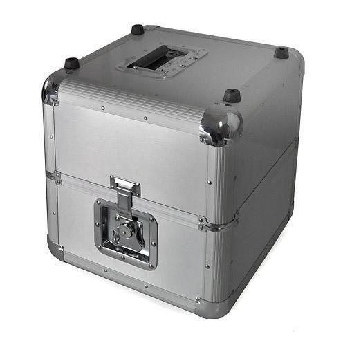Silver Metal Dj Flight Case 70 X 12 Lp Vinyl Record Box Free P P Special Offer