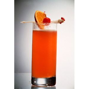 Traditional Caribbean Rum Punch Recipe  3oz. Tortuga Dark Rum     1oz. fresh lime juice   4oz. water   2 oz. Tortuga plain syrup or simple syrup   Dash of bitters   Grated nutmeg   Combine all ingredients except nutmeg in a shaker with cracked ice. Shake well & serve immediately. Sprinkle fresh grated nutmeg over the top of each glass & garnish with fresh pineapple, mango or lime wedge.