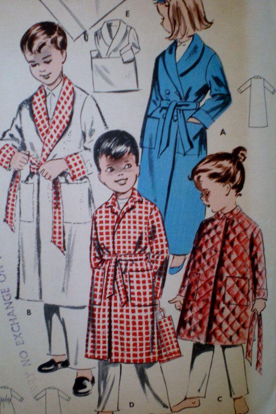 Cartamodelli vintage 9056 ragazzi e ragazze di VINTAGEShopsDelight